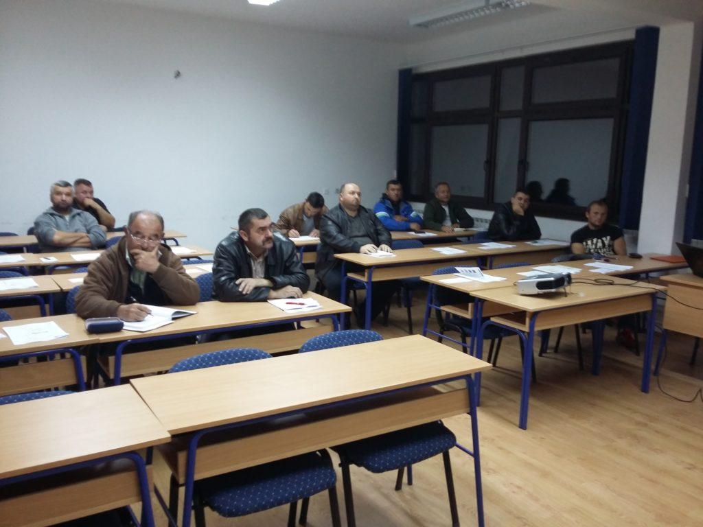 Prvo predavanje programa osposobljavanja za poslove Proizvođač/ica suhomensnatih proizvoda