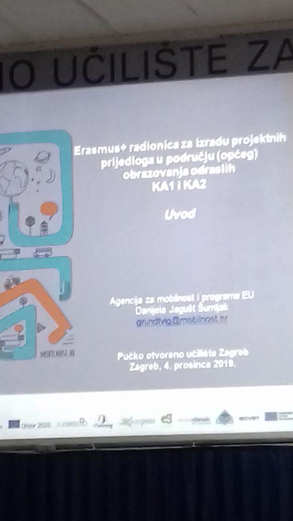 Održane radionice za pisanje projektnih prijedloga ERASMUS+