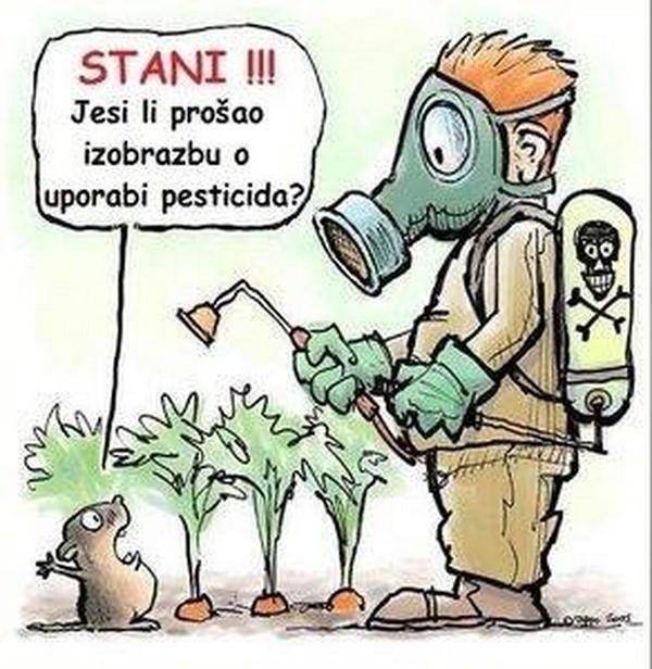 Osnovna izobrazba o sigurnom rukovanju s pesticidima
